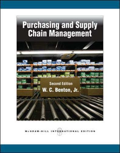 9780071289139: Purchasing and Supply Chain Management