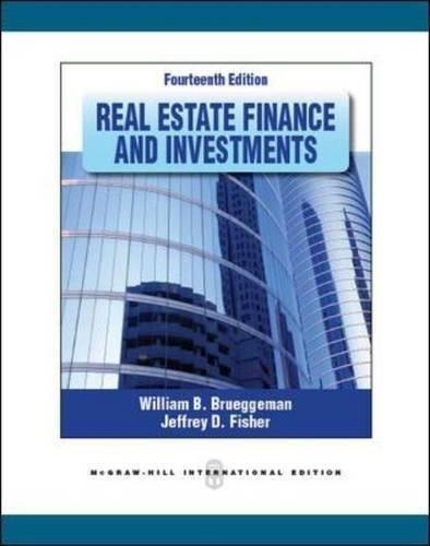 9780071289184: Real estate finance and investments (Economia e discipline aziendali)