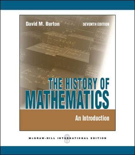 9780071289207: History of Mathematics: An Introduction