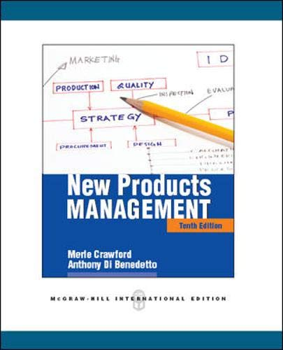 9780071289238: New products management (Economia e discipline aziendali)