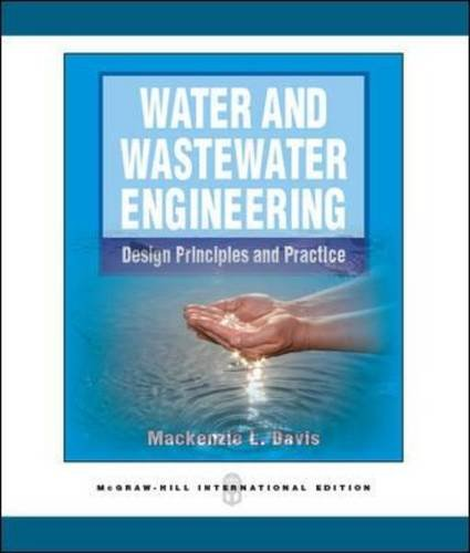 9780071289245: Water and Wastewater Engineering (Int'l Ed)