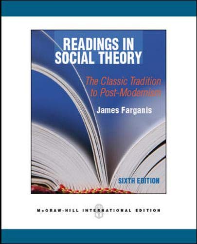 9780071289269: Readings in Social Theory