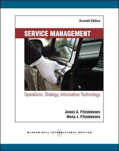 9780071289276: Service Management: Operations, Strategy, Information Technology
