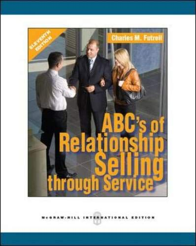 9780071289283: ABCs of Relationship Selling