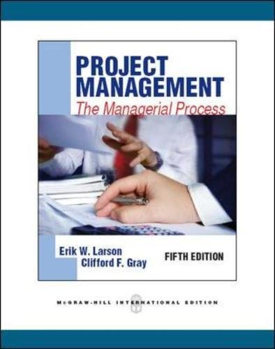 9780071289290: Project Management: The Managerial Process