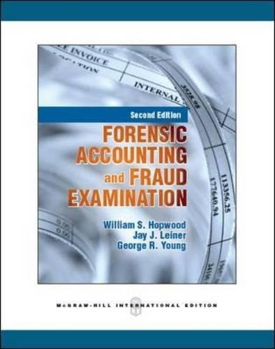9780071289320: Forensic Accounting and Fraud Examination (Int'l Ed)