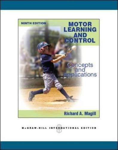 9780071289405: Motor Learning and Control: Concepts and Applications