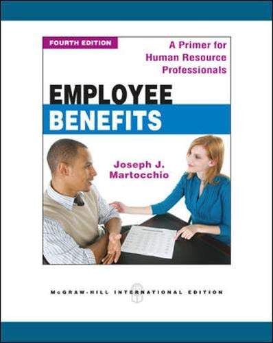 9780071289436: Employee Benefits