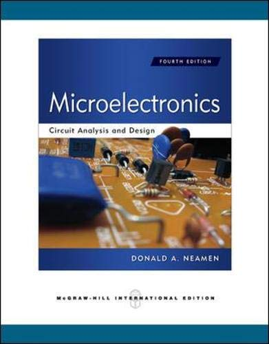 9780071289474: Microelectronics Circuit Analysis and Design (Int'l Ed)