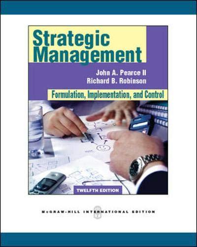 9780071289504: Strategic Management