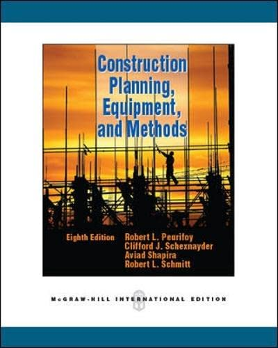 9780071289511: Construction Planning, Equipment, and Methods (Int'l Ed)