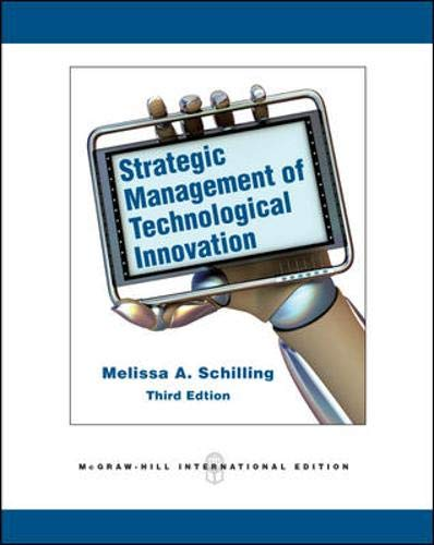 9780071289573: Strategic Management of Technological Innovation