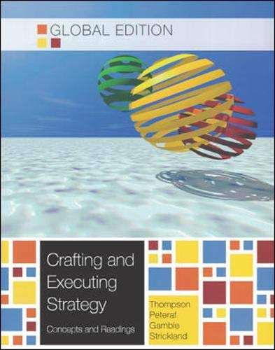 9780071289825: Crafting and Executing Strategy: Concepts and Readings, Global Edition