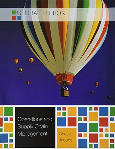 9780071289948: Operations and Supply Chain Management Global Edition