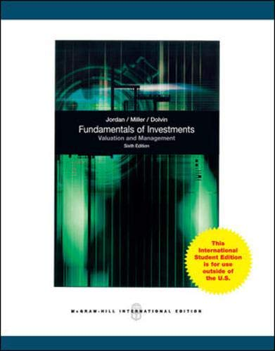 9780071310369: Fundamentals of Investments