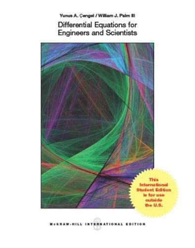 9780071310420: Differential Equations for Engineers and Scientists (Int'l Ed)