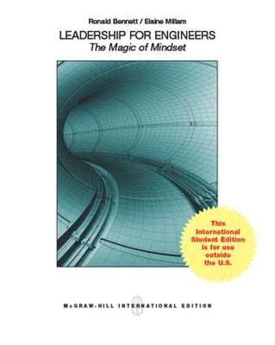 9780071310451: Leadership for Engineers: The Magic of Mindset