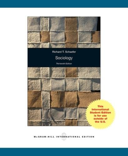9780071310468: Sociology (Int'l Ed)