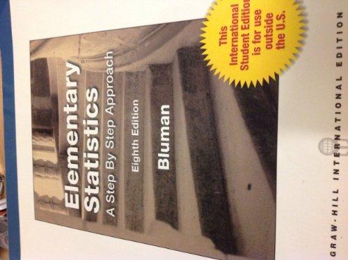 9780071310512: Elementary Statistics Eighth Edition