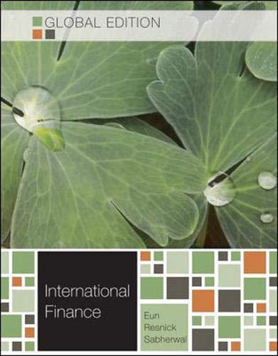 9780071310550: International Finance