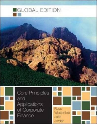 9780071310703: Core Principles and Applications of Corporate Finance (Asia Higher Education Business & Economics Finance)