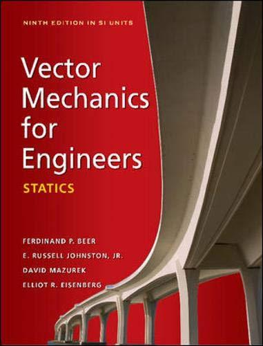 9780071311076: Vector Mechanics for Engineers: Statics (SI units)
