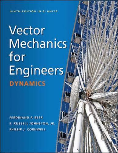 9780071311083: Vector Mechanics for Engineers: Dynamics (SI Units)