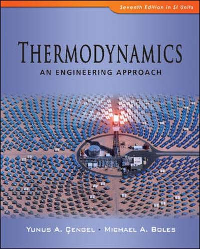 9780071311113: Thermodynamics An Engineering Approach