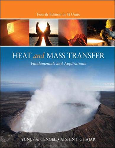 heat and mass transfer fundamentals & applications 5th edition pdf