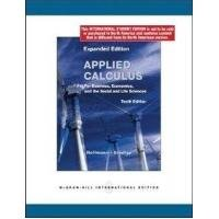 9780071311816: Applied Calculus for Business, Economics and the Social and Life Sciences, Expanded Edition