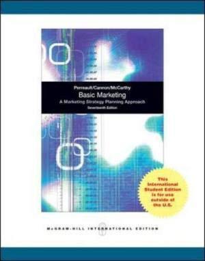 9780071311847: Basic Marketing