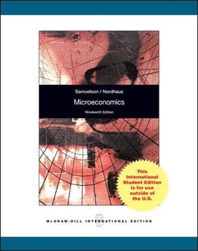 9780071312035: Microeconomics