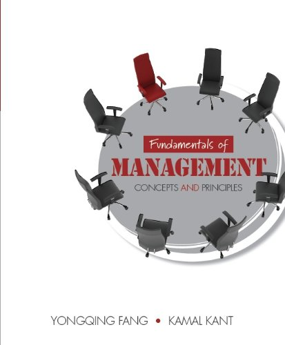 9780071313636: Fundamentals of Management: Concepts and Principles