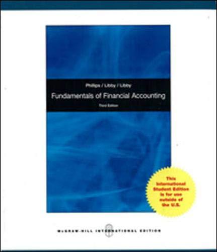9780071313780: Fundamentals of Financial Accounting