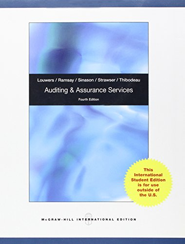 9780071313919: Auditing & Assurance Services