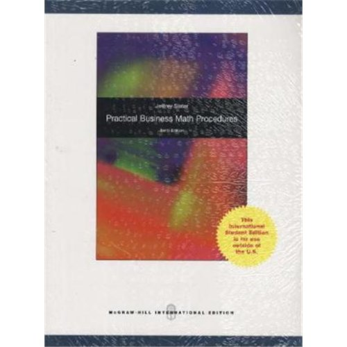 9780071313964: Practical Business Math Procedures