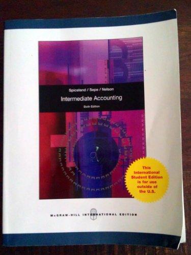 9780071313971: Intermediate Accounting