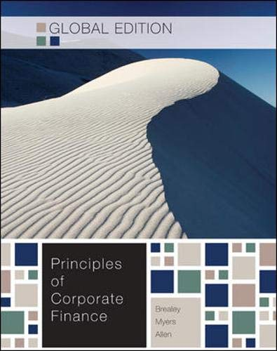 9780071314176: Principles of Corporate Finance
