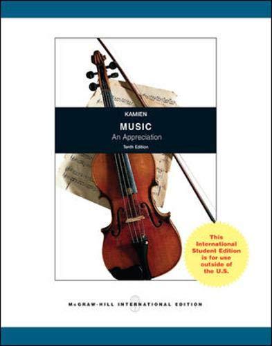 9780071314206: Music: An Appreciation