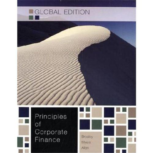 9780071314268: Principles of Corporate Finance - Global Edition W/connect plus