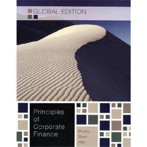 9780071314268: Principles of Corporate Finance