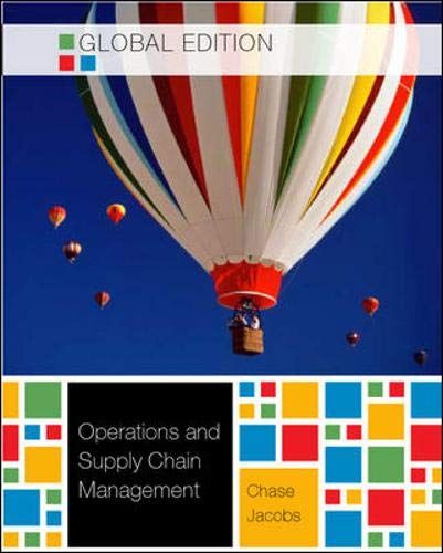 9780071314381: Operations and Supply Chain Management W/connect card - Global Edition