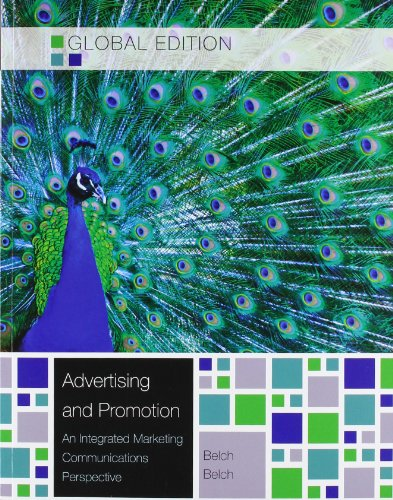 9780071314404: ADVERTISING AND PROMOTION: AN INTEGRATED MARKETING COMMUNICATIONS PERSPECTIVE