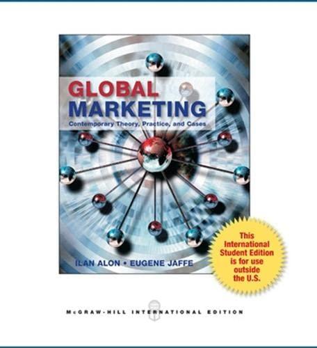 9780071314459: Global Marketing