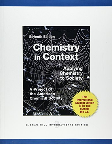 9780071314466: Chemistry in Context