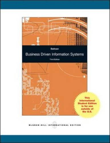 9780071314565: Business-driven Information Systems