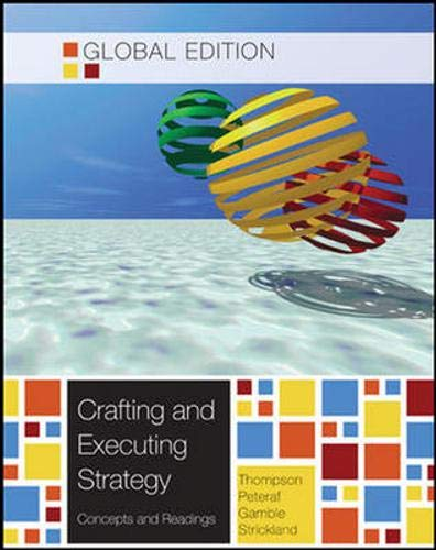 9780071314589: Crafting and Executing Strategy: Concepts and Readings: Global Edition with Connect