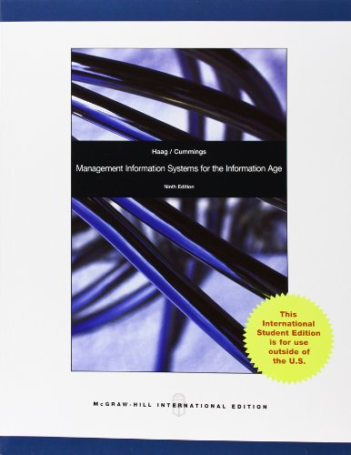 9780071314640: Management Information Systems for the Information Age
