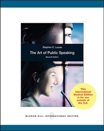 9780071314671: The Art of Public Speaking