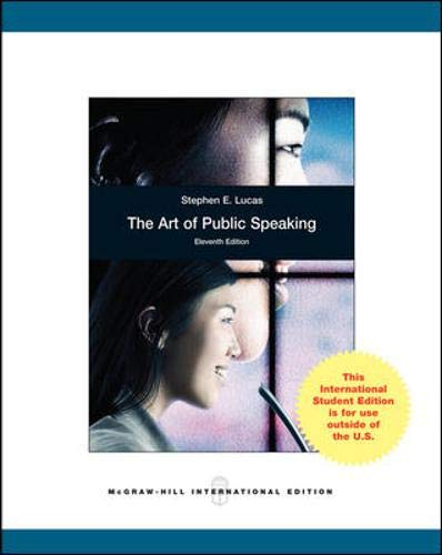 9780071314671: The Art of Public Speaking